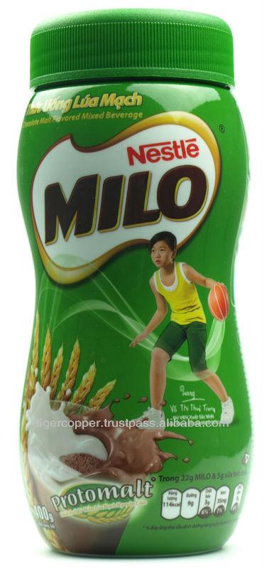MILO MILK POWDER JAR 400G/MILO CHOCOLATE MALT FLAVORED MIXED BEVERAGE DRINK POWDER products,Vietnam MILO MILK POWDER JAR 400G/MILO CHOCOLATE MALT ...372 x 800 jpeg 60kB