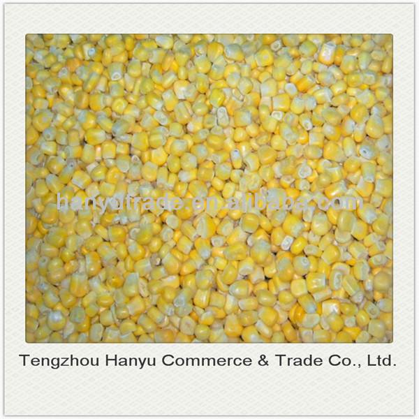 grade A frozen sweet corn
