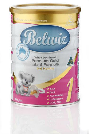 Belwiz Baby Milk Powder Infant Formula Step 1 Australian