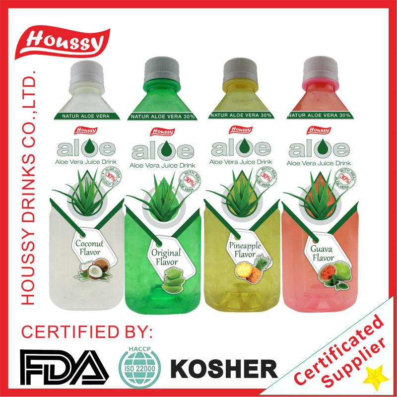 W-HOUSSY aloe vera drink--PET bottle