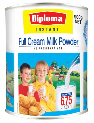 Diploma Instant Full Cream Milk Powder Can (900g) Fonterra Dairy