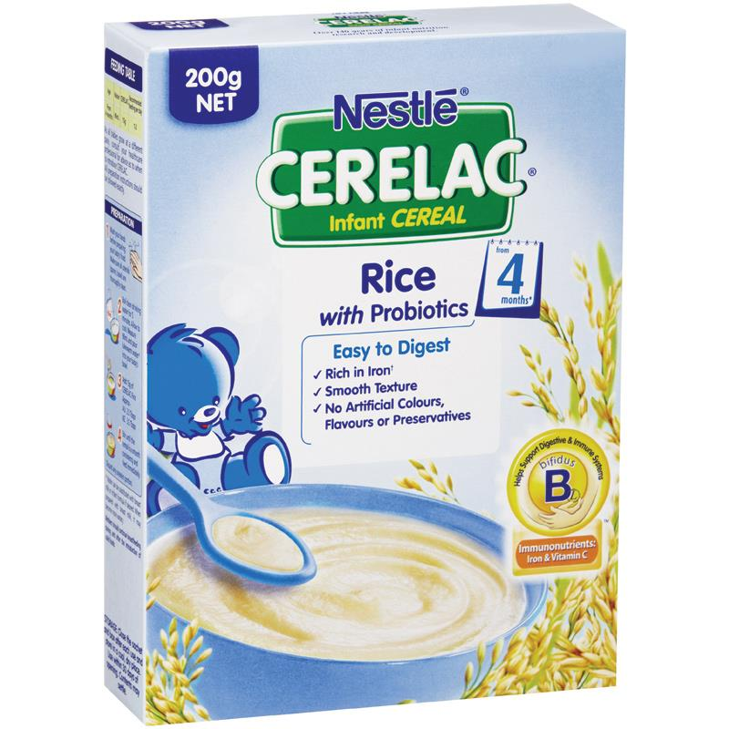 CERELAC Rice Infant Cereal (From 4 Months) Baby Health