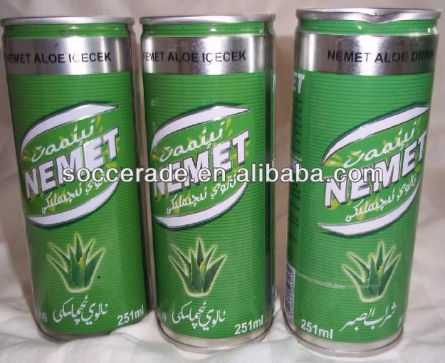 250ML Canned Aloe vera juice