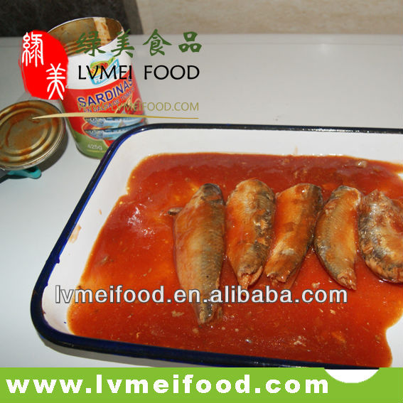 Canned mackerel fish in tomato sauce products china canned for Fish in tomato sauce