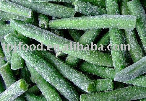 2012 IQF frozen green bean(4cm) with FDA