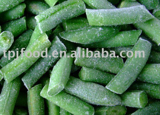Year2013 IQF frozen green bean(4cm) with FDA