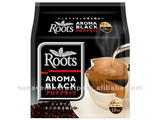 Regular drip coffee japan steel coffee roots aroma black for Aroma japanese cuisine