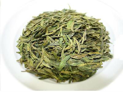 Organic Premium DragonWell green tea loose tea leaves