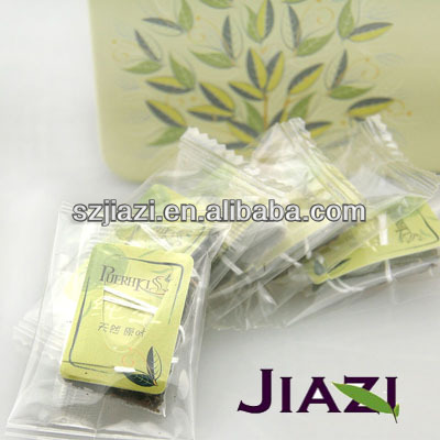 Puer green tea bag hot sell tea bag