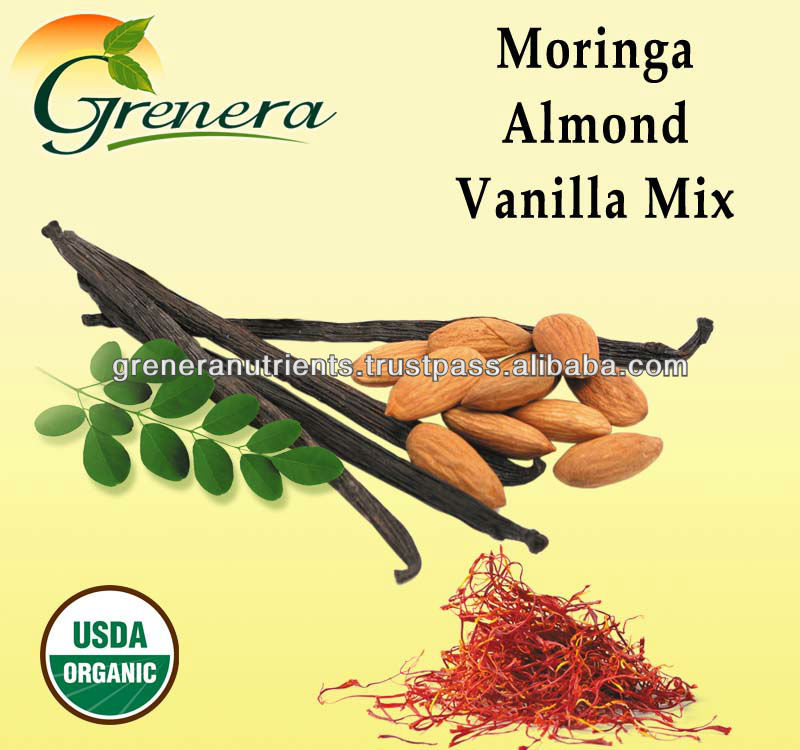 Palmsugar and cinnamon - Moringa almond