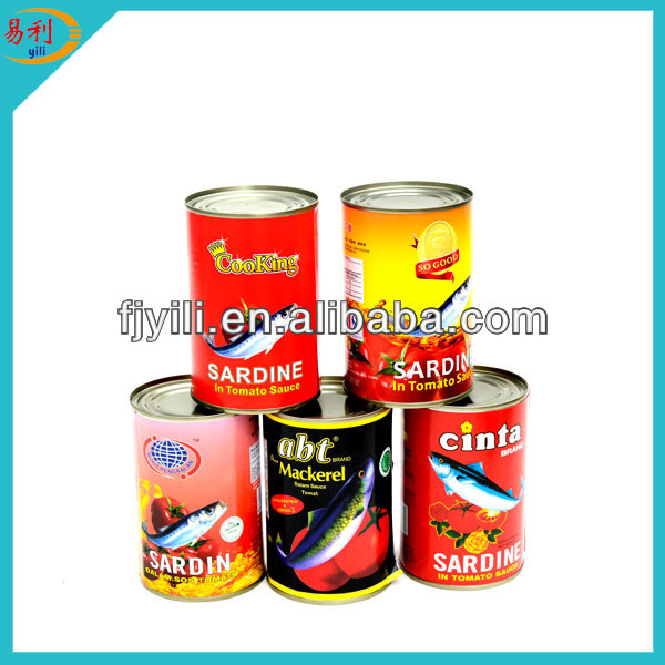 Wholesale price canned sardine in chilli tomato sauce
