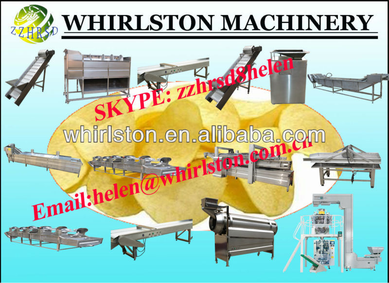 industrial equipment for potato chips machine(complete line)