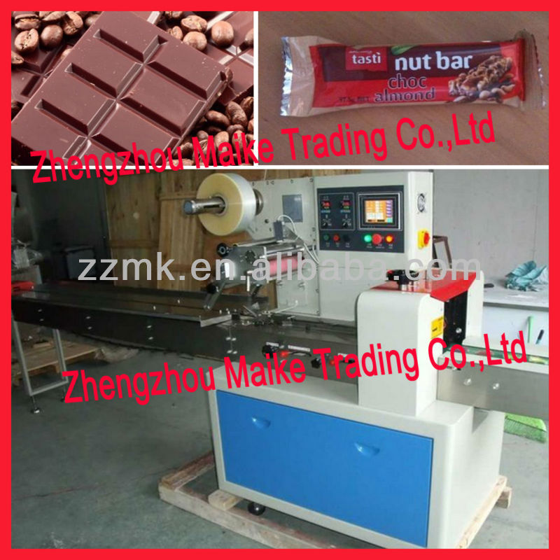 Hot selling functional chocolate bar packing machine for Food bar packaging machine