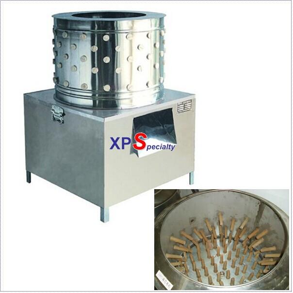 Hot Stainless Steel Chicken Plucker Plucking Machine Poultry De-Feather Machine