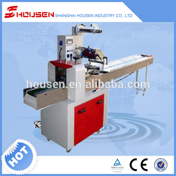 Horizontal chocolate bar packing machine with ce for Food bar packaging machine