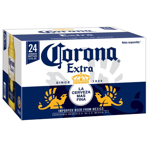 Corona Extra Beer, 12 fl oz, 24 pac products,United ...