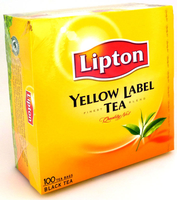 Lipton Yellow Label Tea 100 tea bags products,Poland ...