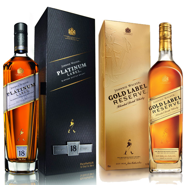 JOHNNIE WALKER GOLD LABEL WHISKY Products,United Kingdom
