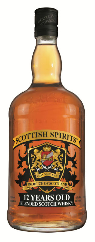 12 Years Old Blended Scotch Whisky