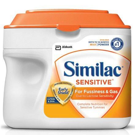 Similac Sensitive/ 1.41 lb SimplePac / case of 6