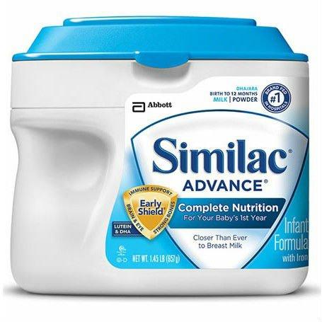 Similac Advance / 1.45 lb SimplePac / case of 6