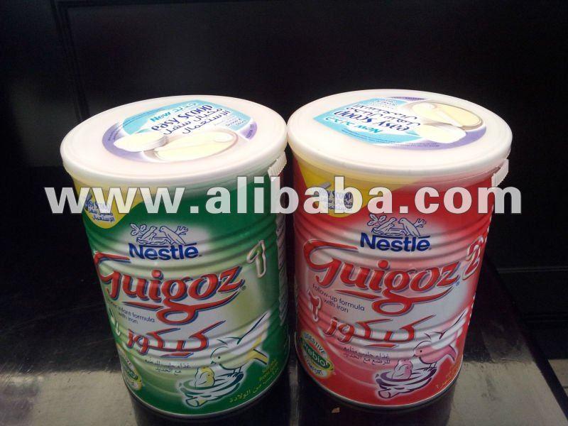 Guigoz formula baby milk 1,2