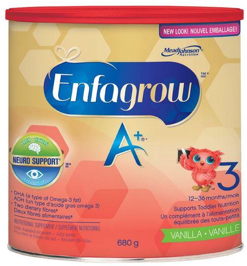 Enfagrow A+ Vanilla Flavour Powder, 680g