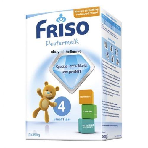 6 x 25 oz Friso Growth 5 Milk Powder Dutch Baby formula ...