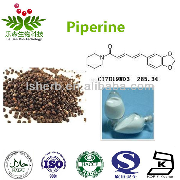Black Pepper Extract Piperine 98% products,China Black