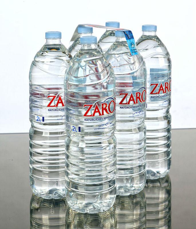 ZARO'S Natural Mineral Water 2LT Pet(1X6) film
