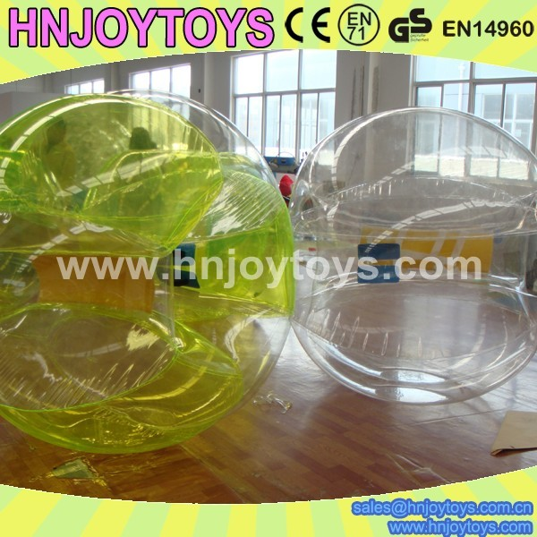 Custom inflatable bubble football, body zorb ball,Professional factory supplying inflatable bubble f