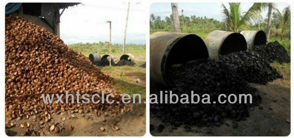 pure water treatment system of coconut shell activated carbon