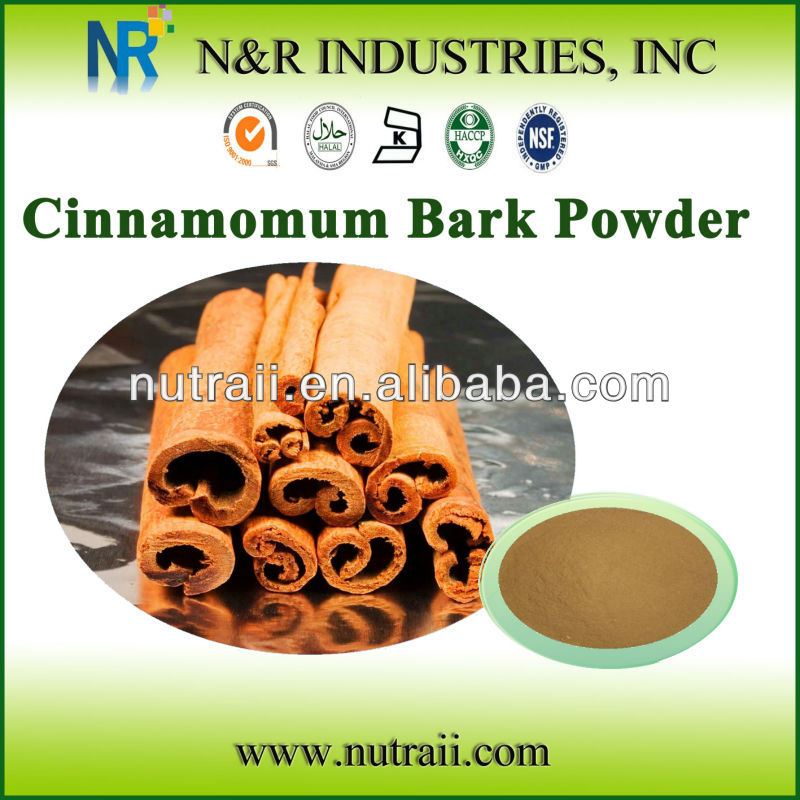 Natural and Pure Cinnamon Bark Powder or Cinnamon Bark Extract (cinnamon cassia)