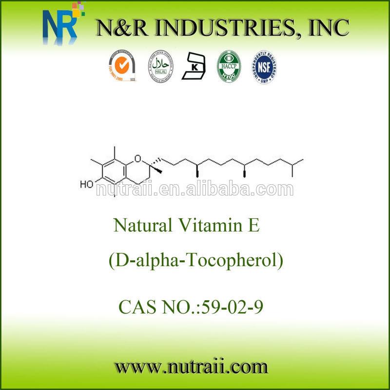 Natural Vitamin E D-alpha Tocopherol 1000IU