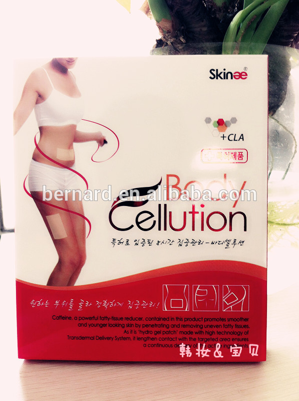 Hot Selling Green Korea Body Cellution Slimming Patch As