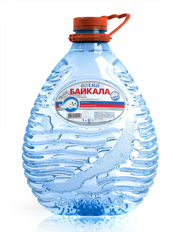3,0 L Pure Baikal Drinking Water