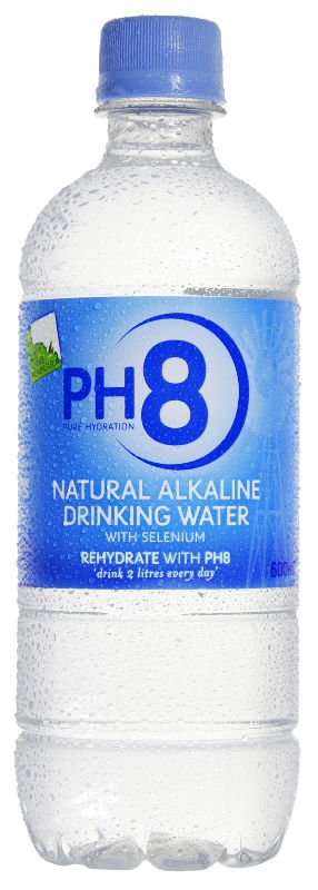 Ph8 Natural Alkaline Drinking Water 600ml Products
