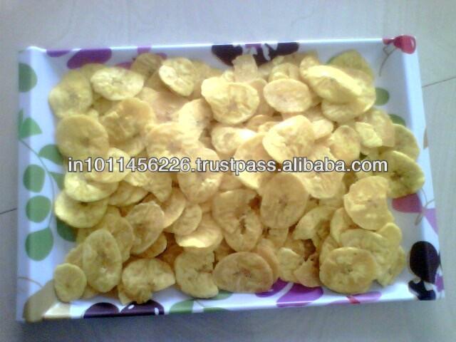 salt with Crispy banana chips