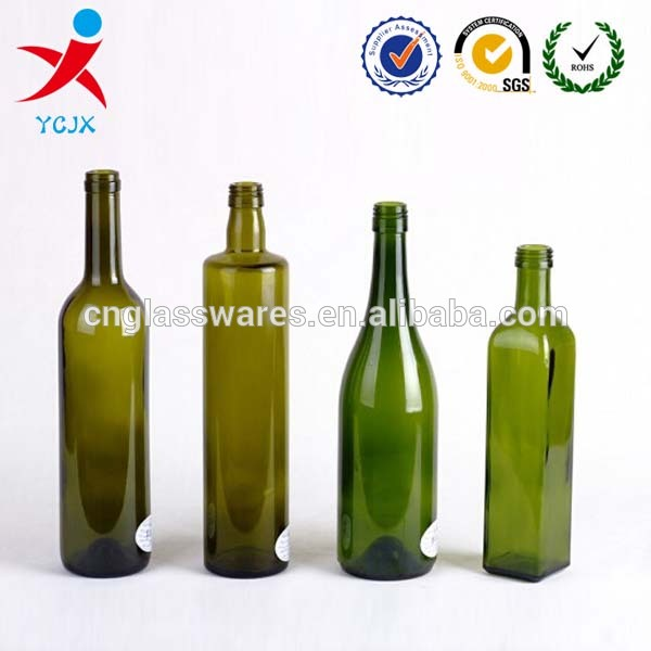 Wholesale green red wine bottles products china wholesale for Red glass wine bottles suppliers