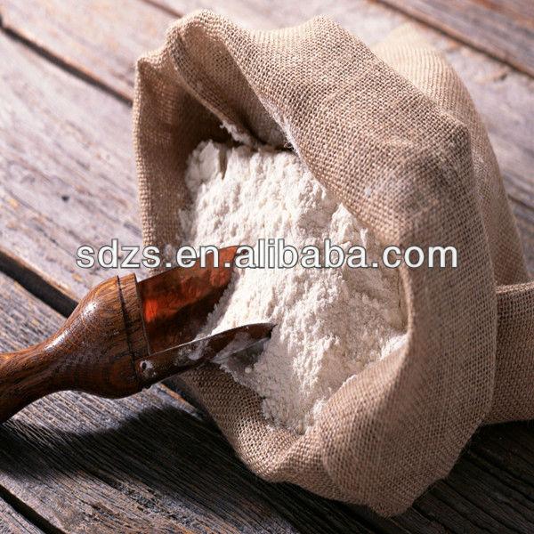 Sweet wheat flour and indian wheat flour