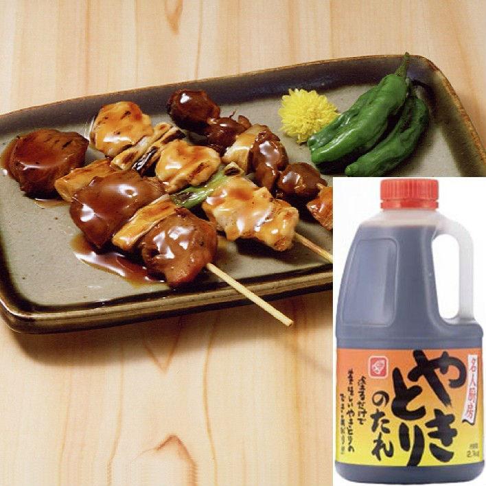 Japanese yakitori chicken bbq sauce bottle 2.1 Kg