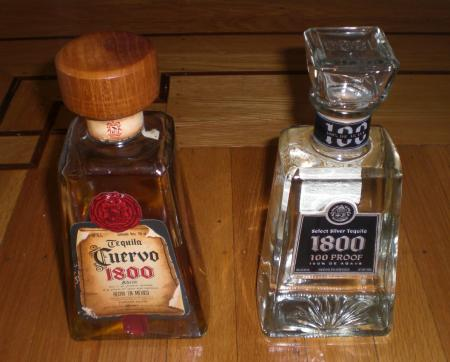 1800 Select Silver Tequila 100 Proof 750ml Products United