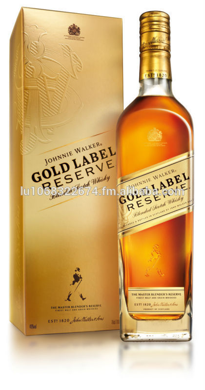 Johnnie Walker Gold Label Reserve.......100%..Original....2014