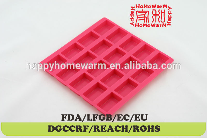oblong chocolate bar molds use with chocolate,candy coating,soap,butter or cream cheese