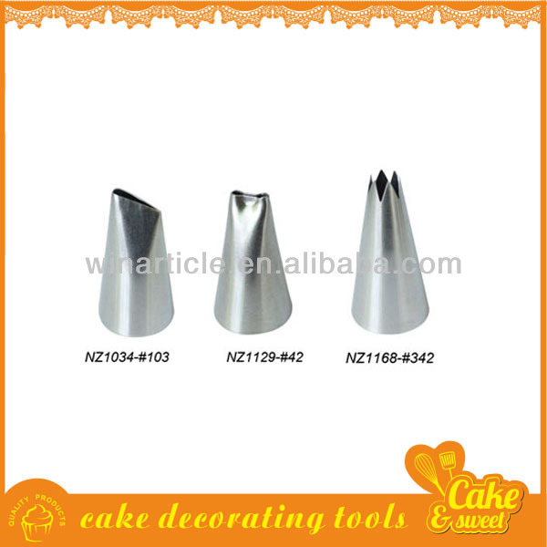 Cake Decorating Nozzle Sizes : Cake nozzle sets cake decoration supplier products,China ...