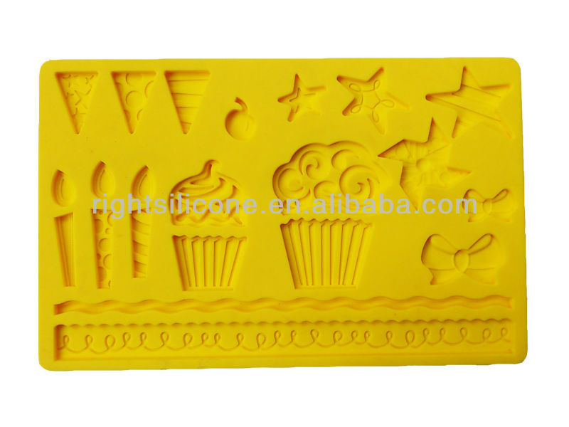 Cake Art Food Casting Gel : fancy silicone cake molds for cake decorating fondant ...