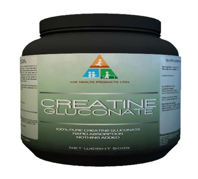 Creatine Gluconate Powder 500g