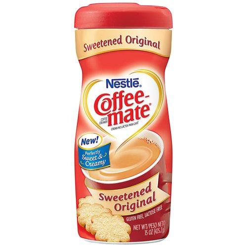 Coffee-Mate Coffee Creamer Sweetened 15 oz 6 Packs (50000-52517)