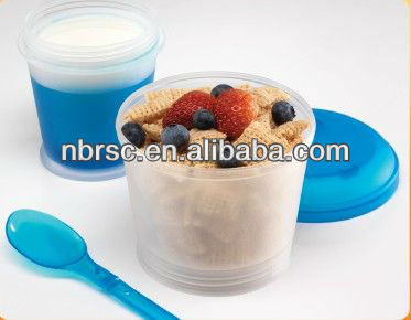 plastic cereal on the go