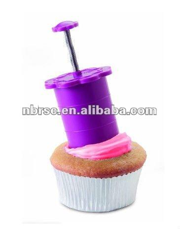 food grade plasitc cake plunger for cake decorating